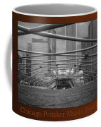 Chicago Pritzker Music Pavillion Sc Triptych 3 Panel Coffee Mug