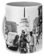 Chicago Protest, 1941 Coffee Mug