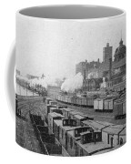Chicago Railroads, C1893 Coffee Mug