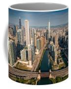 Chicago River Aloft Coffee Mug