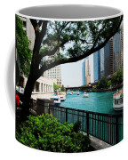 Chicago River Scene Coffee Mug