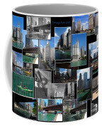 Chicago River Walk Collage Coffee Mug