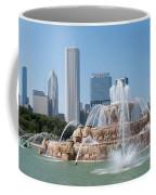 Chicago Skyline And Fountain Coffee Mug