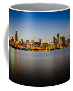 Chicago Skyline At Sunset Coffee Mug