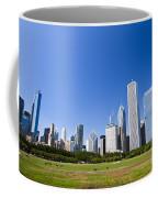 Chicago Skyline From Grant Park Coffee Mug