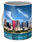 Chicago Skyline Panorama Coffee Mug