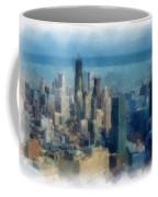 Chicago Skyline Photo Art 06 Coffee Mug