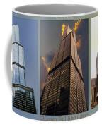 Chicago Tall Shoulders Trump Sears 333 Wacker Triptych 3 Panel 03 Coffee Mug