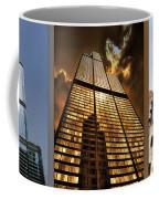 Chicago Tall Shoulders Trump Sears Tribune Triptych 3 Panel 01 Coffee Mug
