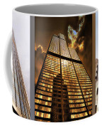 Chicago Tall Shoulders Trump Sears Tribune Triptych 3 Panel 02 Coffee Mug