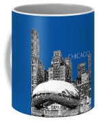 Chicago The Bean - Royal Blue Coffee Mug