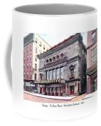Chicago - The Illinois Theatre - East Jackson Boulevard - 1910 Coffee Mug