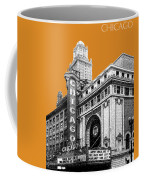 Chicago Theater - Dark Orange Coffee Mug