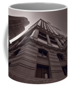 Chicago Towers Bw Coffee Mug