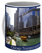 Chicago Transportation Triptych 3 Panel Hdr 01 Coffee Mug