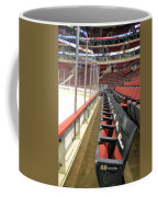 Chicago United Center Before The Gates Open Blackhawk Seat One Coffee Mug
