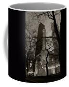 Chicago Water Tower B W Coffee Mug