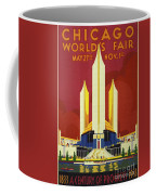 Chicago World Fair A Century Of Progress Expo Poster  1933 Coffee Mug