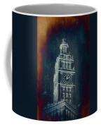 Chicago Wrigley Clock Tower Textured Coffee Mug