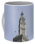 Chicago Wrigley Clock Tower Coffee Mug