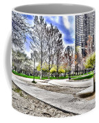 Chicago's Jane Addams Memorial Park From The Series The Imprint Of Man In Nature Coffee Mug