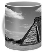 Chichen Itza Blk Wht Coffee Mug
