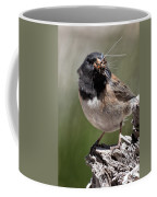 Chickadee Bringing Lunch To The Kids Coffee Mug