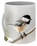 Chickadee Coffee Mug by Christina Rollo