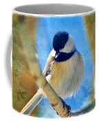 Chickadee On A Bright Day -digital Paint I Coffee Mug