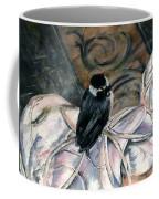 Chickadee On A Sneaker Coffee Mug