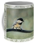 Chickadee With Frame  Coffee Mug