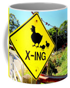 Chicken Crossing Coffee Mug