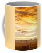 Chicken Farm Sunset 1 Coffee Mug by James BO  Insogna