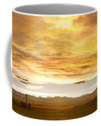 Chicken Farm Sunset 2 Coffee Mug by James BO  Insogna