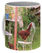 Chicken In The Chair Coffee Mug
