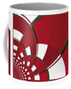 Chicken Little Crossed The Road - Abstract - Triptych Coffee Mug