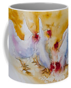 Chickens Feed Coffee Mug
