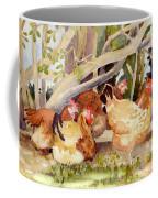 Chickens In The Hedge II Coffee Mug