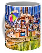 Chico Sail Boat By Diana Sainz Coffee Mug