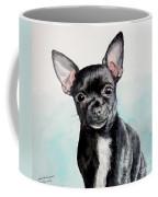 Chihuahua Black Coffee Mug