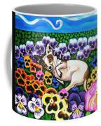 Chihuahua In Flowers Coffee Mug