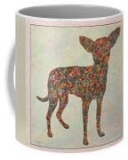 Chihuahua-shape Coffee Mug by James W Johnson