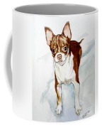 Chihuahua White Chocolate Color. Coffee Mug