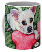 Chihuahua Who Came To Visit Coffee Mug