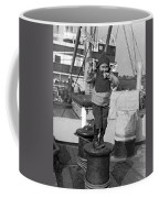 Child Arriving At Ellis Island Coffee Mug