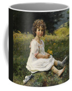 Child In The Meadow Coffee Mug