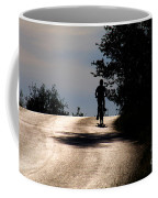 Child On Bicycle, Italy Coffee Mug