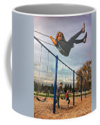 Child On Swing Coffee Mug