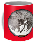 Child Tohono O'odham Hammock #2  Unknown Location And Date - 2013. Coffee Mug