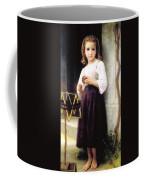 Child With A Ball Of Wool Coffee Mug